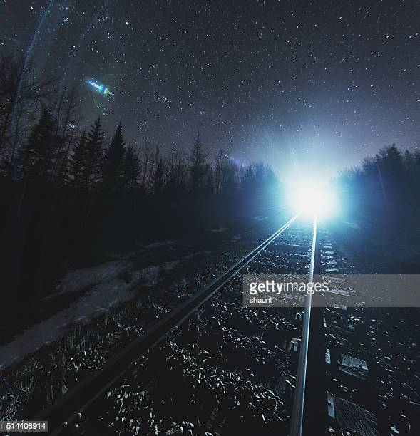 Freight Train in the Stars
