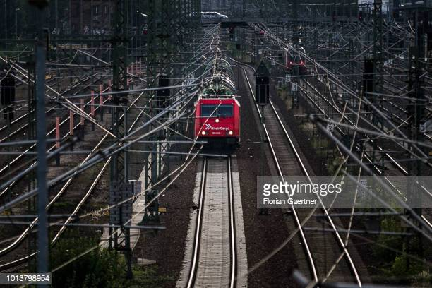 A freight train is pictured on August 08 2018 in Berlin Germany