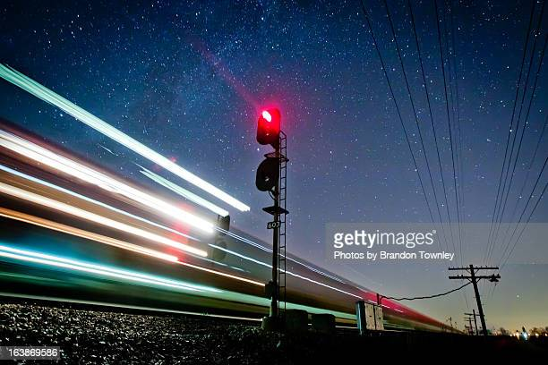 freight train near harpster, ohio - train stock photos and pictures