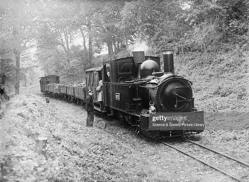 Narrow gauge railway, c 1950. : News Photo