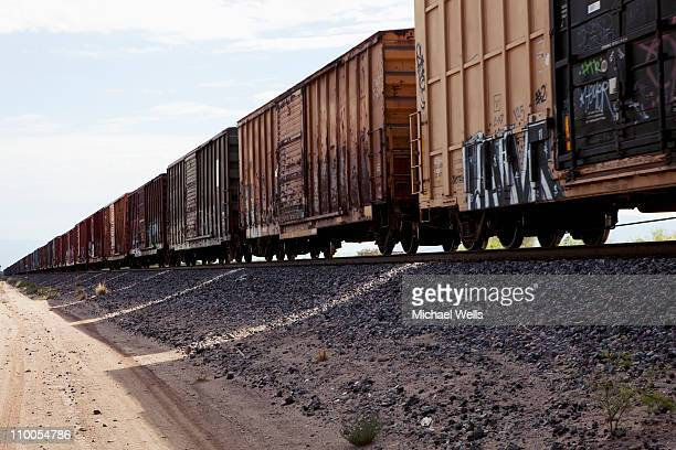 freight train - cargo train stock photos and pictures