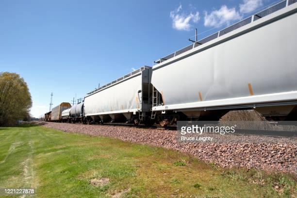 freight train - geneva illinois stock pictures, royalty-free photos & images