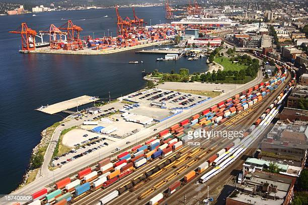 freight transport - rail freight stock pictures, royalty-free photos & images