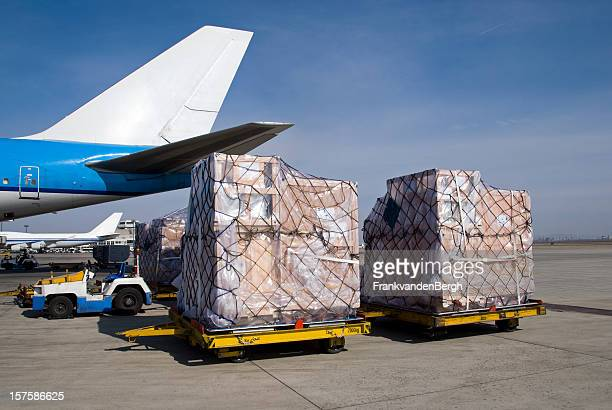 Freight transportation at the airport