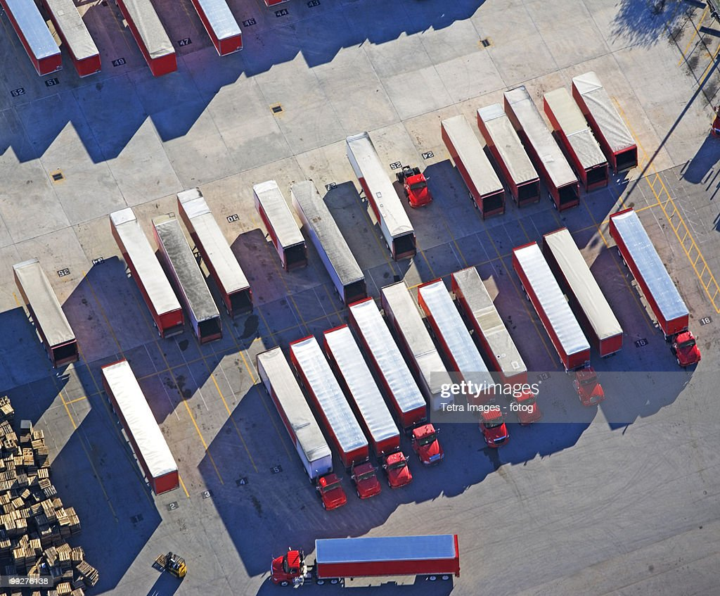 Freight trucks : Stock Photo