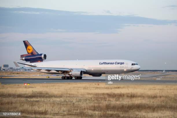 MD-11-Frachter von Lufthansa Cargo hebt ab