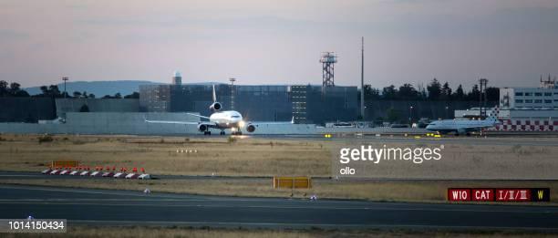 MD-11-Frachter von Lufthansa Cargo warten ausziehen