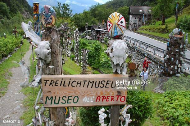Freilichtmuseum Prato Stelvio Prad am Stilfserjoch Urlaub Sommer Italien Italienische Republik italienisch Repubblica Italiana Italia / Suedtirol