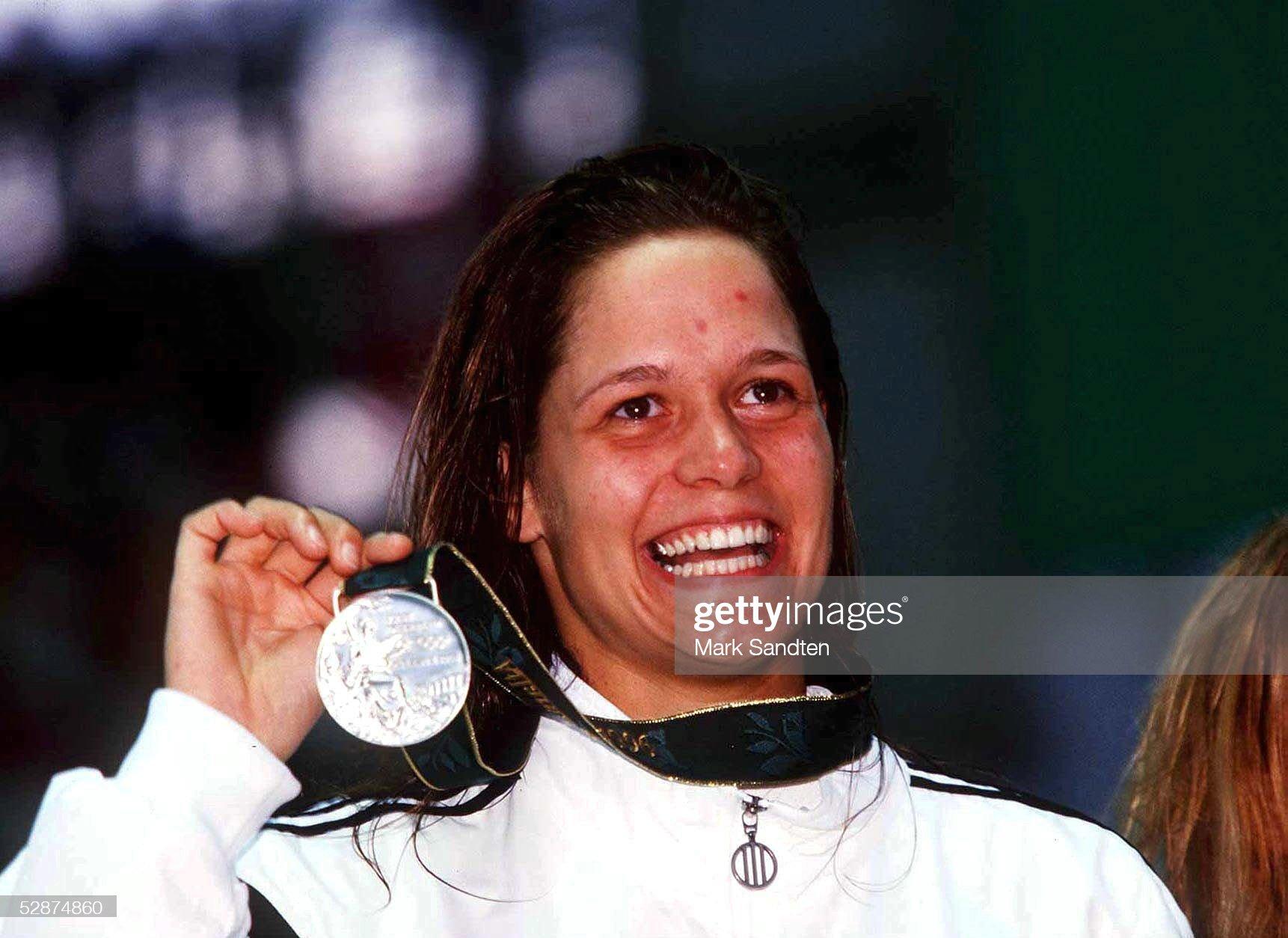 SCHWIMMEN: ATLANTA 1996 100M FREISTIL/Frauen 20.7.96 : Fotografía de noticias