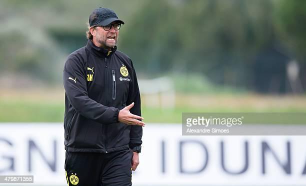 Freitag , 1. Fussball - Bundesliga Saison 13/14 - in La Manga / Spanien,BV Borussia Dortmund im Trainingslager La Manga in Spanien,Trainer Juergen...