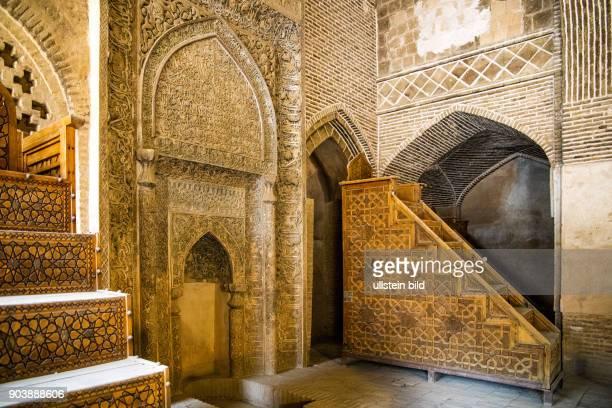 Freitags-Moschee, Masjid-e Jomeh, Isfahan, Esfahan, Iran, IRN, Islamische Republik Iran, Gottesstaat, Persien, Vorderasien, Schiiten, Islam, Muslime,...