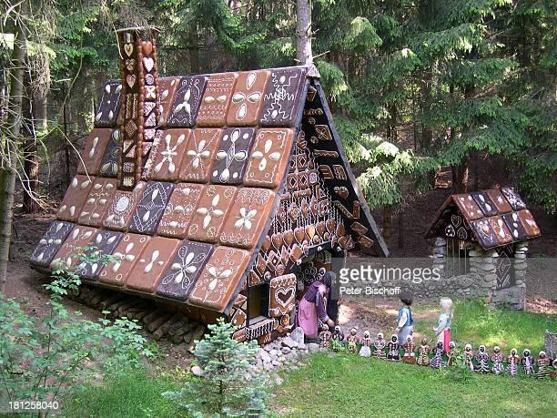 Freizeitpark 'Magic Park' Verden Niedersachsen Deutschland Europa Reise Märchenpark Märchen Kindermärchen 'Hänsel und Gretel' Hexe Lebkuchenhaus...