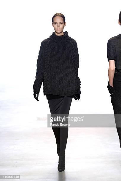 Freja Beha Erichsen wearing Calvin Klein Fall 2007