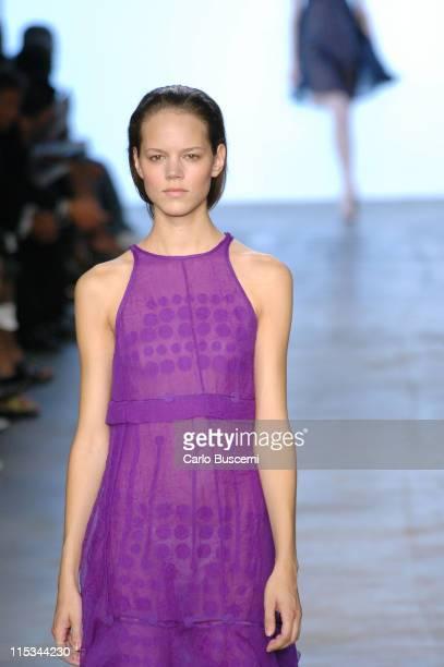Freja Beha Erichsen wearing Calvin Klein Spring 2006