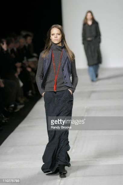 Freja Beha Erichsen wearing Marc by Marc Jacobs Fall 2006