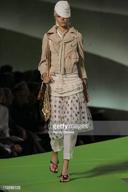 Freja Beha Erichsen wearing Marc Jacobs Spring 2007