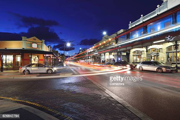 Fremantle South Terrace at Sunset, Fremantle, Perth, Australia