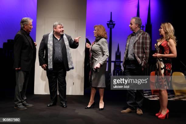 fremde verwandte Komödie von von René Heinersdorff gastiert vom 14 April bis 26 Juni 2016 im Theater am Dom in Köln Hans Jürgen Bäumler Marianne...