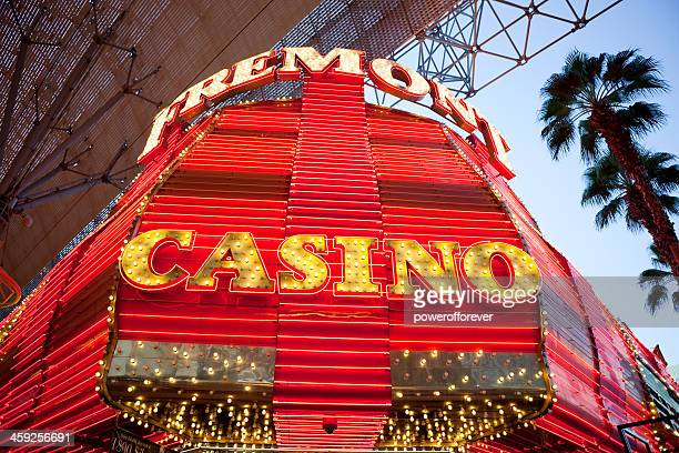 fremont hotel and casino - fremont street experience stock pictures, royalty-free photos & images