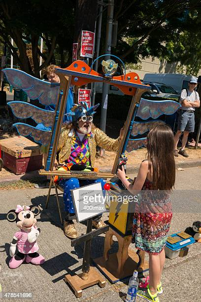 fremont live video game - fremont solstice parade stock pictures, royalty-free photos & images