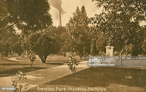 Fremont Park, Stockton, California, 1914.
