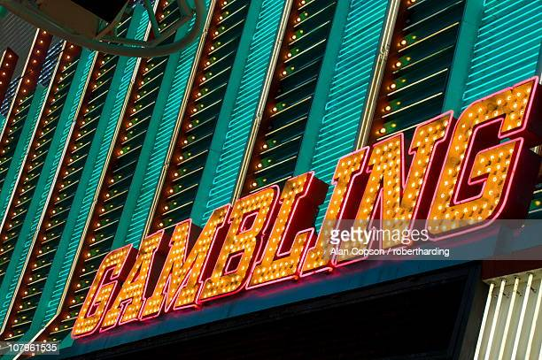 fremont street, downtown old las vegas, las vegas, nevada, united states of america, north america - fremont street las vegas stock pictures, royalty-free photos & images