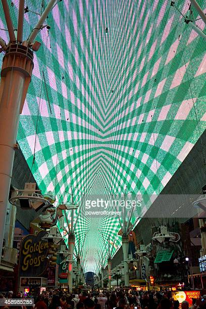 fremont street experience - fremont street experience stock pictures, royalty-free photos & images