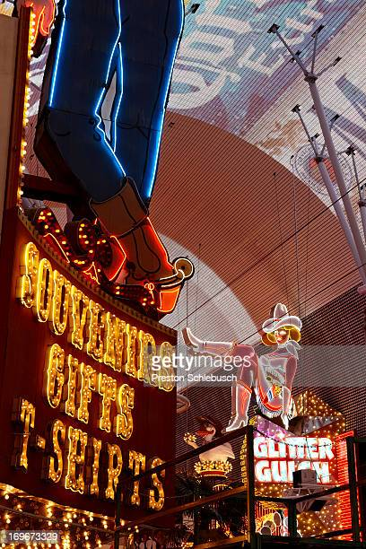 Fremont Street is photographed for Conde Nast Traveler Spain on May 6 2010 in Las Vegas Nevada PUBLISHED IMAGE