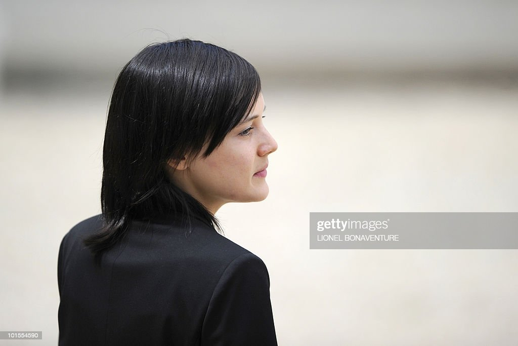 French academic Clotilde Reiss leaves the Elysee Palace in Paris, after being received by French President Nicolas Sarkozy after her return from Teheran, on May 16, 2010. Reiss, who had been arrested and held in Iran since last July, left Tehran early Sunday for Paris a week after France rejected a US call for the extradition of Majid Kakavand and allowed him to return home.