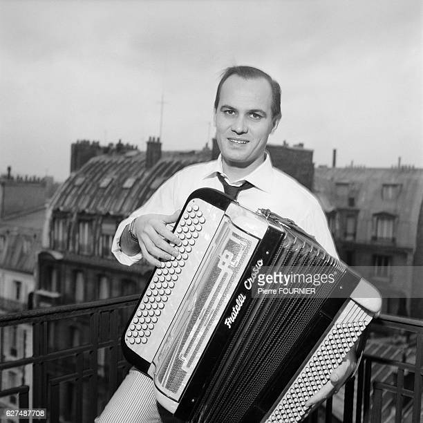 French Accordionist Marcel Azzola at Home