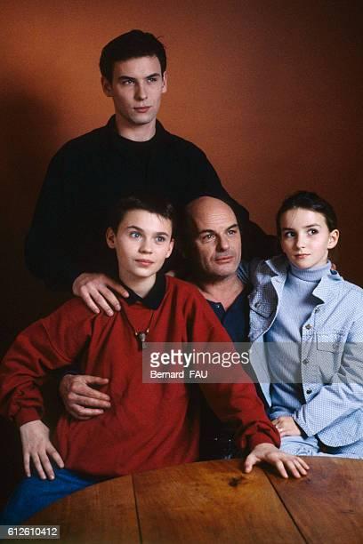 French acting family Robinson Stevenin JeanFrancois Stevenin Salome Stevenin and Sagamore Stevenin