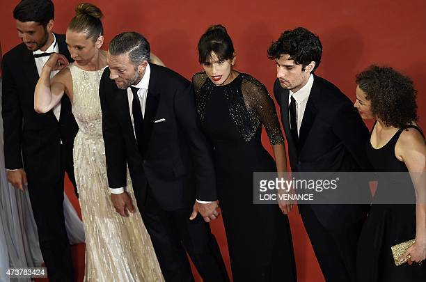 French actor Abdel Addala, French actress Emmanuelle Bercot, French actor Vincent Cassel, French actress and director Maiwenn, French actor Louis...