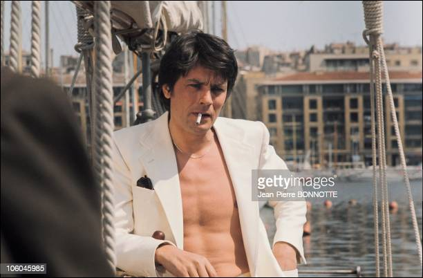 French actor Alain Delon in France