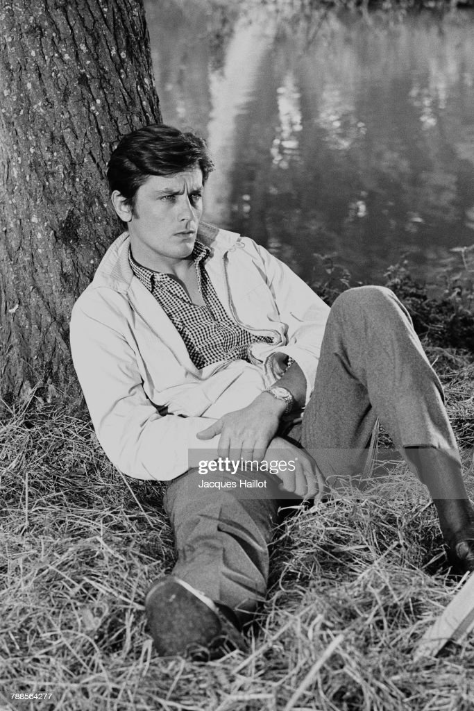 French actor Alain Delon : News Photo