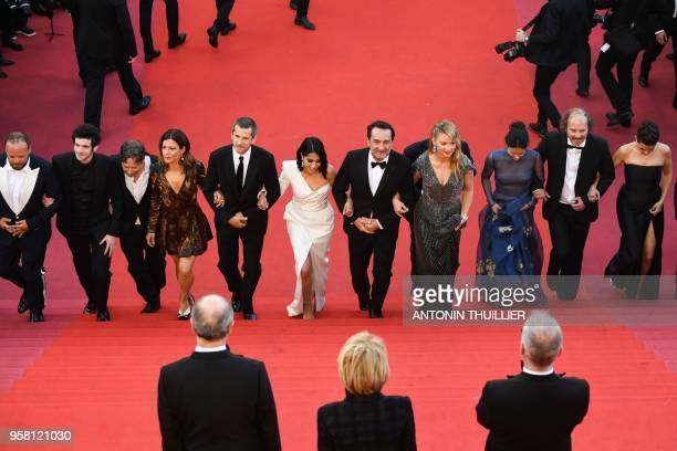 French actor Alban Ivanov French actor Felix Moati French actor Mathieu Amalric French actress Marina Fois French actor Guillaume Canet French...