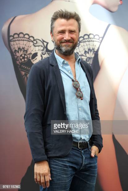 French actor Alexandre Brasseur poses during a photocall for the TV show 'Demain nous appartient' as part of the 58nd MonteCarlo Television Festival...