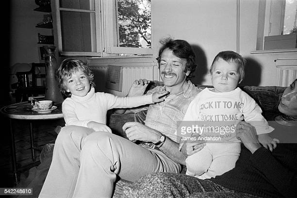 French actor and dancer JeanPierre Cassel with his sons Vincent and Mathias 1