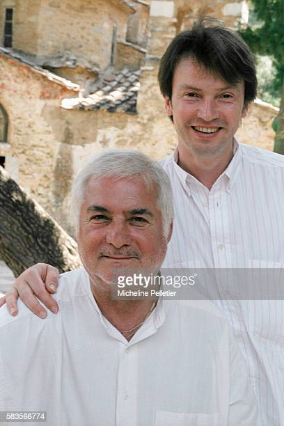 French Actor and Director JeanClaude Brialy and his Boyfriend Bruno