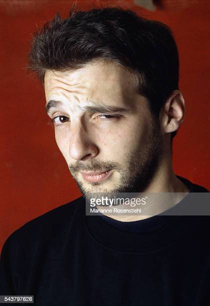 French actor and director Mathieu Kassovitz