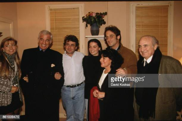 French actor and humorist Michel Boujenah in his dressing room the day of his premiere at the Olympia music hall LR Nathalie Tardivel Jean Paul...
