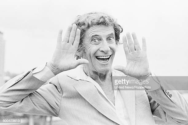 French actor and mime artist Marcel Marceau in London on 3rd August 1984.
