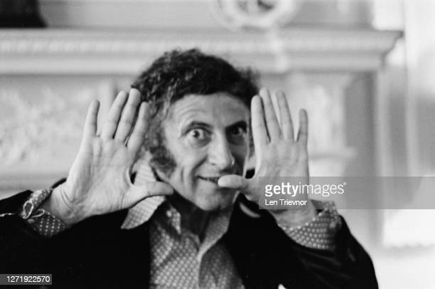 French actor and mime artist Marcel Marceau , who is set to appear at Sadler's Wells in London, July 1972.