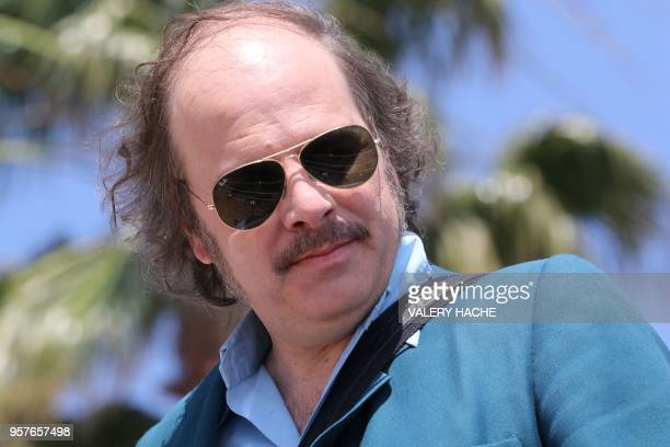 French actor and singer Philippe Katerine attends on May 12 2018 a photocall for the film 'Le Monde est a Toi ' on the sidelines of the 71st edition...