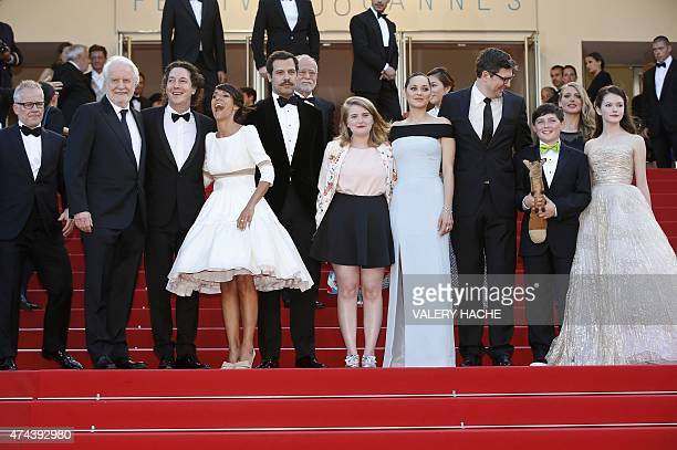 French actor Andre Dussollier French actor Guillaume Gallienne French actress Florence Foresti French actor Laurent Lafitte French actress Clara...
