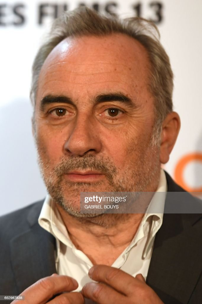 French actor Antoine Dulery poses during the photocall for the premiere of the film 'Chacun Sa Vie' in Paris on March 13, 2017. The film is directed by French director Claude Lelouch. /