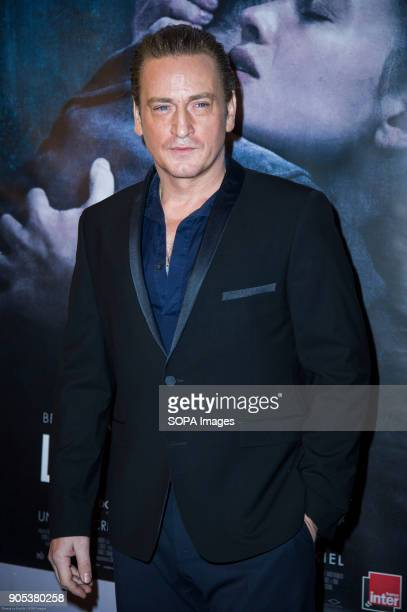 French actor Benoit Magimel at the premiere of 'La Douleur' at the cinema Gaumont Opera in Paris