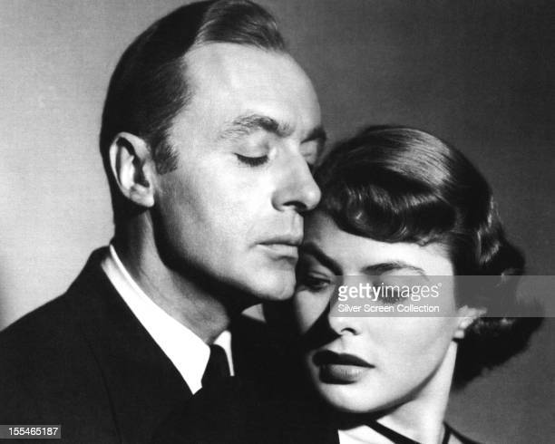 French actor Charles Boyer as Dr Ravic and Swedish actress Ingrid Bergman as Joan Madou in the film 'Arch of Triumph' or 'Arc de Triomphe' 1948