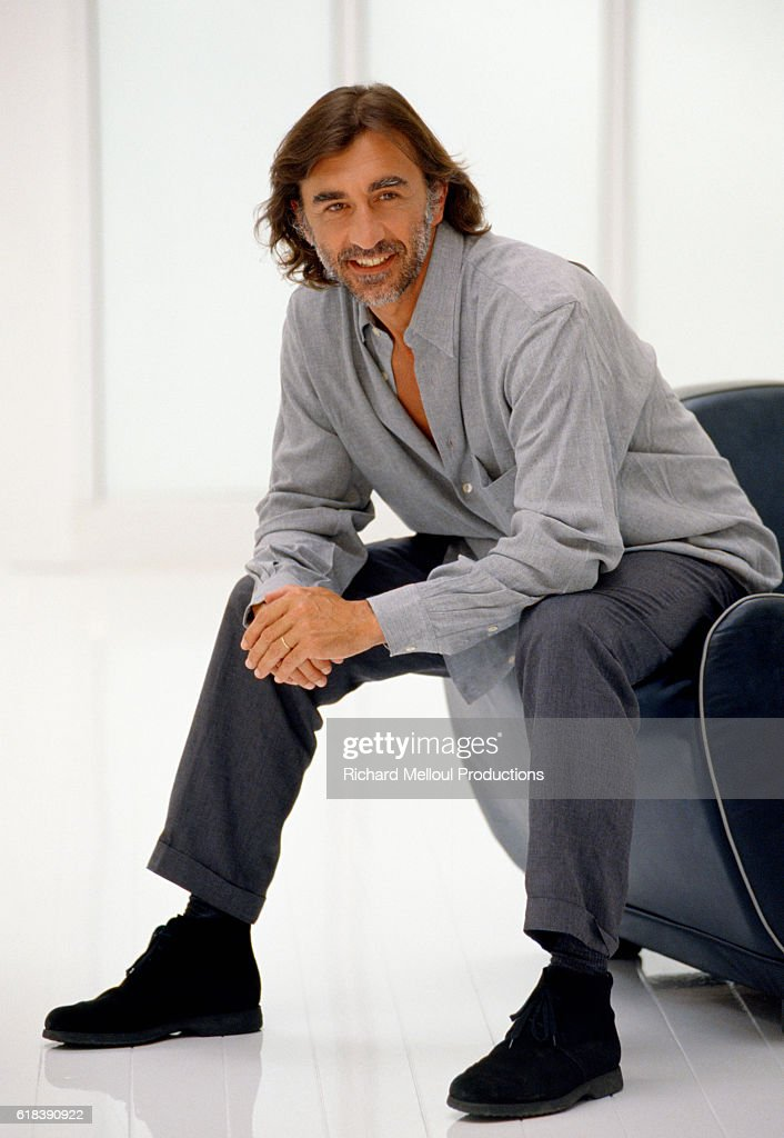 French Actor Christophe Malavoy : Photo d'actualité
