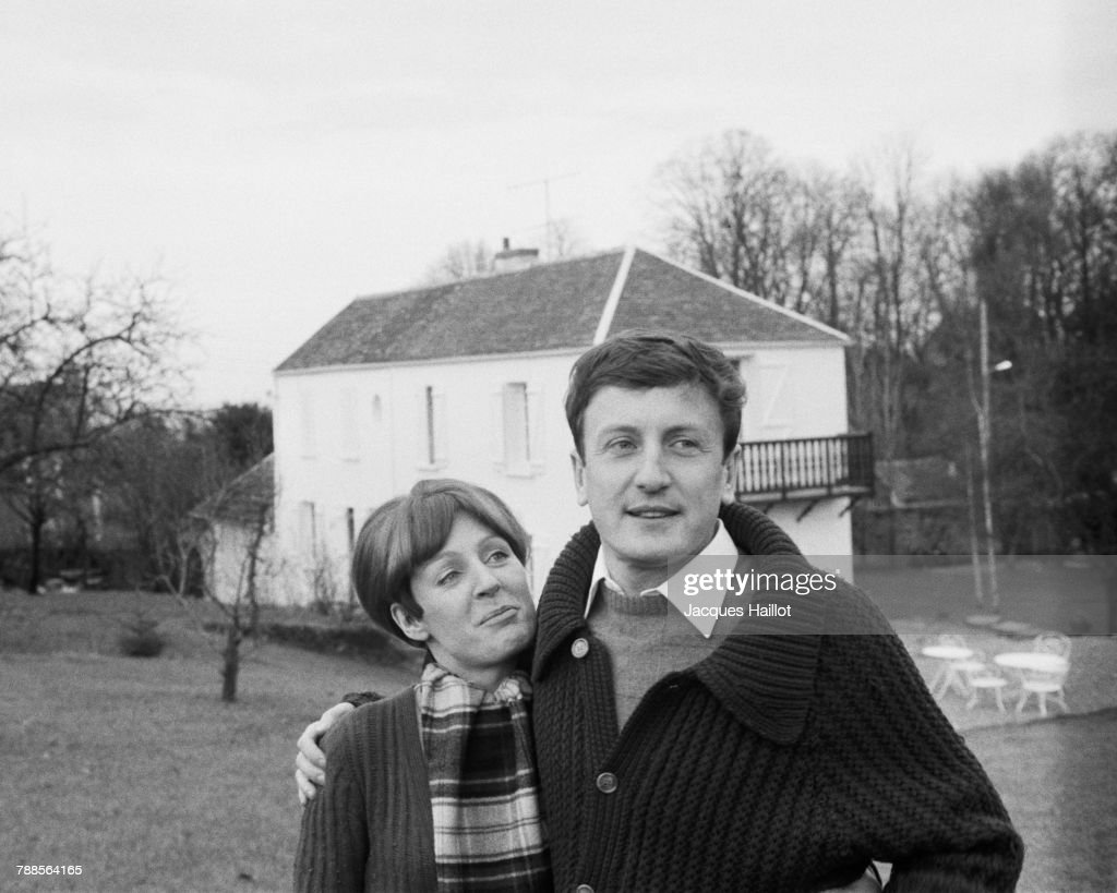 Claude Rich with Wife Catherine : News Photo