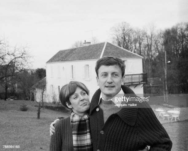 French actor Claude Rich and his wife Catherine